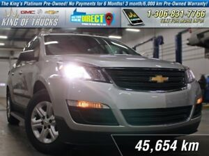 2013 Chevrolet Traverse LS 8-Seater | AWD | PST Paid