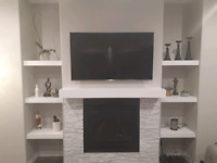 TV WALL MOUNT INSTALLATION ONLY FOR $70