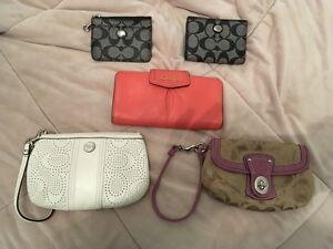Coach Wallets and Wristlets