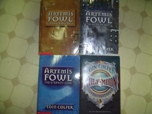 4 Eoin Colfer books