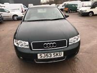 Audi A4 2.4 SE 4 DOOR - 2003 53-REG - 10 MONTHS MOT