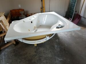 Super clean Mirolin Whirlpool, 60 X 60 inches.Complete with tap