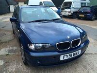 BMW 318i 2001 blue