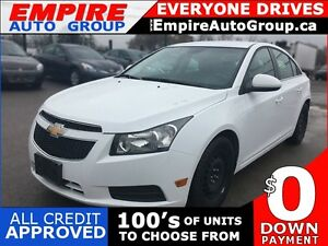 2014 CHEVROLET CRUZE 2LT * LEATHER * REAR CAM * BLUETOOTH * LOW