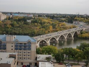 River / University View - Fully Furnished - Low condo fees