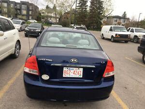 2007 Kia Spectra LX Convenience Sedan