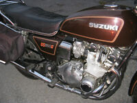 1981 Brown Suzuki GS 850