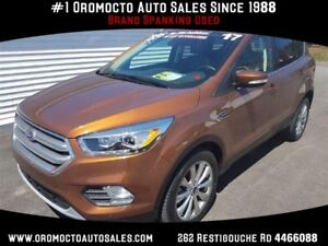 2017 Ford Escape Titanium Tech Package,