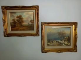 Original oil paintings(×2)