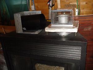 Direct vent Fireplace-propane