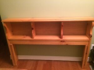 Double-size solid-wood Headboard
