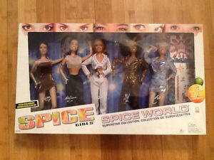"""Spice Girls 1998 Superstar Collection """" Canadian Edition"""" Galoob"""