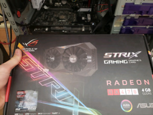 carte video rx470 asus rog