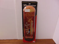 Metal Budweiser Thermometer