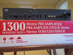 NAD 1300 Monitor Series Stereo PreAmplifier