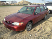 1998 Ford Escort Wagon...whole or for parts...runs and drives