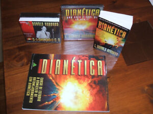 Dianetica / Dianetics (book, CD's, DVD's)