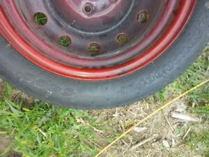 Spare tire & Jack set excellent condition