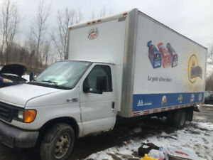 2006 Ford E-Series Van 16 Ft-BOX DIESEL Other