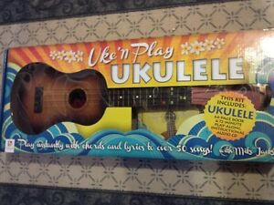 Ukelele, Brand New in box, with instructional CD