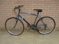 Apollo transfer hybrid bike immaculate condition like new service with extras ready to ride away