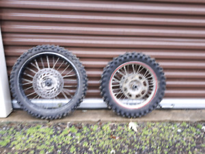 Honda CRF 150 R wheels