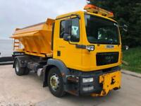 2011 MAN TG-M 18.250 Econ 6m3 gritter, plough bracket