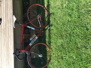Giant fixed gear road bike