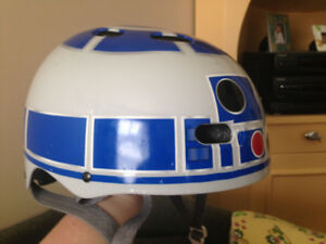 R2D2 child's bike helmet