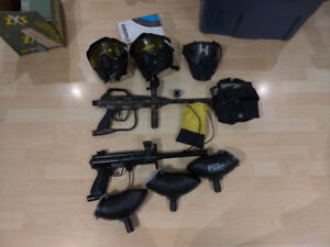 Assorted Paintball Equipment