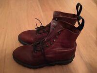 Oxblood Red Dr Martens Size 6