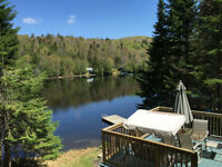 Location long terme - Chalet 4 saisons au bord du lac Mohawk