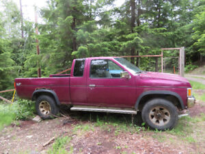 1996 Nissan Truck for Salvage