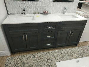 WAREHOUSE MOVING SALE VANITIES MUST GO,TOILETS,SHOWER DOORS