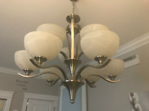 As new ~ modern light fixture