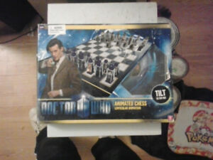 Doctor Who Animated chess