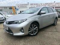 2014 Toyota Auris 1.8 VVTi Hybrid Excel 5dr CVT Auto Estate Petrol/Electric Hybr