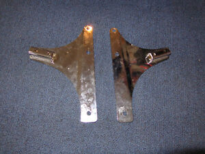 Harley back rest mounting brackets   recycledgear.ca