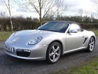 Porsche Boxster 2.7 (SILVER) 2008/58 (silver) 2008