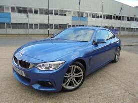 2014 BMW 4 Series 2.0 420d M Sport 2dr