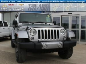 2017 Jeep Wrangler Unlimited Sahara   Trail Rated   Low KMs   -