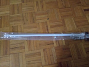 Extendable curtain rods two for $6