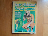 Jack Nicklaus Playing Lessons book