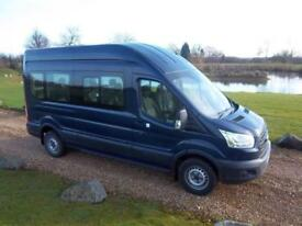 2015 / 15 Ford TRANSIT 410 ECONETIC TECH L3 H3 15 SEAT MINIBUS