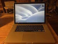 "MacBook Pro 15"" / 2.5GHz Intel iCore7 / 8GB Ram/ 750GB Hard Drive / late 2011"
