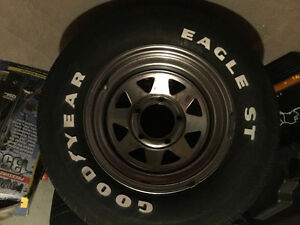Goodyear tires on rims