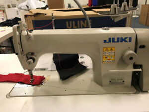 Single Needle Juki 10 machines available for sale