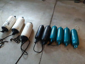 Assorted Boat Mooring Fenders