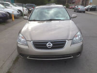 2004 NISSAN ALTIMA 2.5S Automatique, A/C, CD, 4 cyl, PRIX 2,595$
