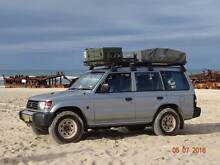 4WD Pajero Diesel PINK SLIP Just Done Roof Tent Ideal Backpackers Newtown Inner Sydney Preview